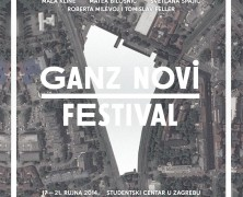 Dear all, today is the first day of the Ganz New Festival, 4th edition!