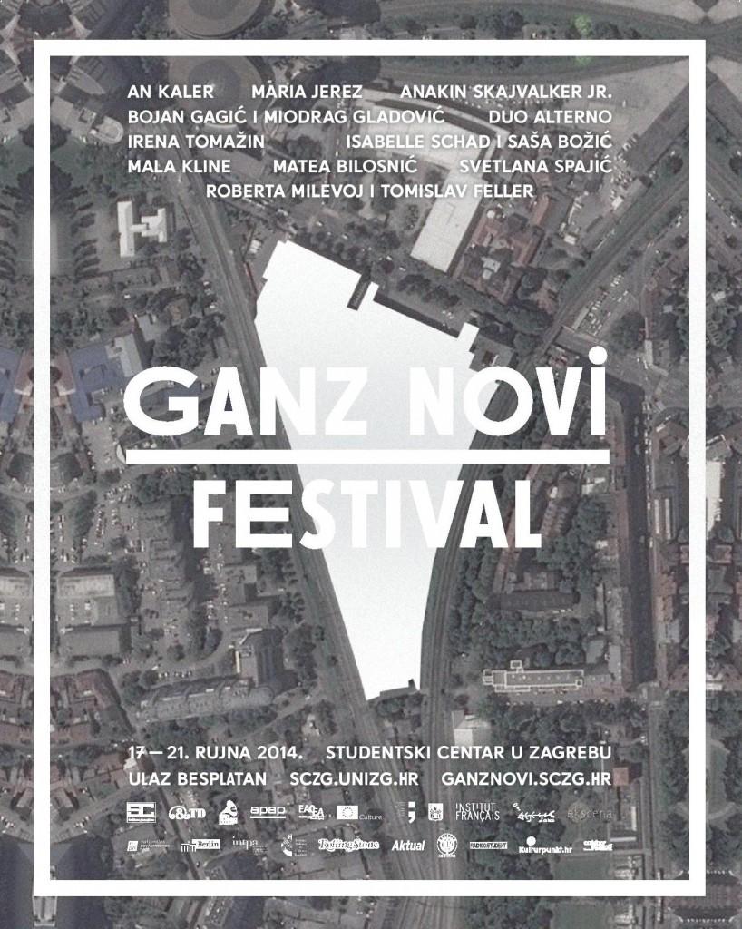 4. Ganz novi festival, plakat
