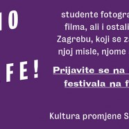 Ganz novi festival usvaja ganz nove fotografe i poziva na 3 besplatne radionice!